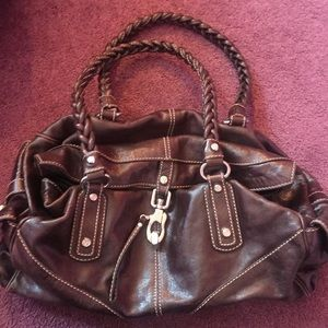 Francesco Biasia  Designer Brown Leather handbag